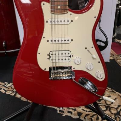 Fender Channel bound Stratocaster 2012 Dakota Red for sale