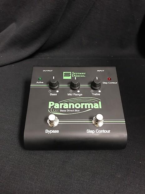 Seymour Duncan Paranormal Bass DI | Wentworth Music | Reverb