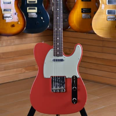 Fender Custom Shop W20 Limited Edition '63 Telecaster NOS Rosewood Fingerboard Fiesta Red for sale
