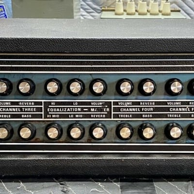 Vintage EMC PA 400 Guitar/Bass/Vocal PA Head Serviced and Restored for sale