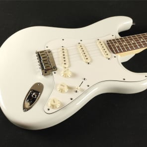 Fender Custom Shop Jeff Beck Stratocaster - Olympic White - 0150083805 (1399) for sale