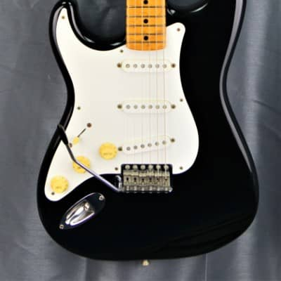 Fender Stratccaster ST'57 LH 1999 Black 'gaucher' japan import for sale