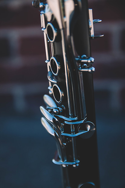 Used Buffet B12 Student Clarinet with 5RV and Rovner ligature Free Shipping!