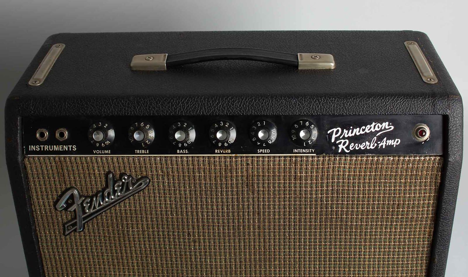 Fender  Princeton Reverb Tube Amplifier (1966), ser. #A-13665.