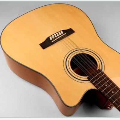 Acoustic Electric Guitar 12 Strings Built in Tuner, EQ Natural iMusic12EQ for sale