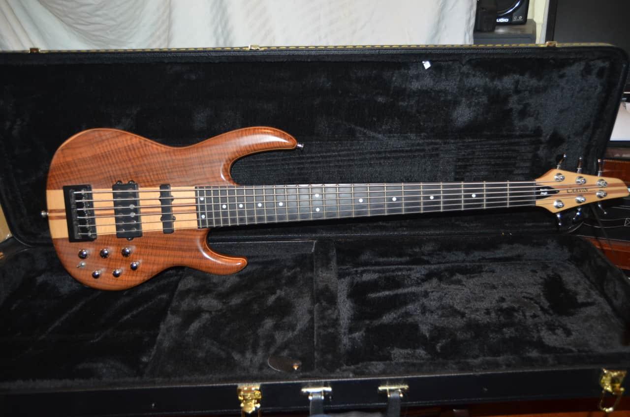carvin lb76 6 string bass guitar walnut reverb. Black Bedroom Furniture Sets. Home Design Ideas