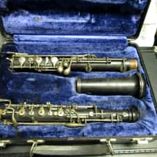 BUNDY by Selmer Wood Oboe / this is a nice older WOOD Oboe by the Selmer Company