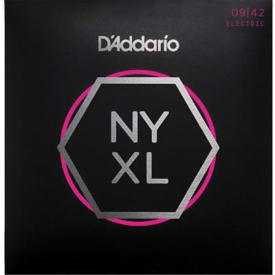D'Addario NYXL0942 - Nickel Wound Electric Guitar Strings Super Light 9-42