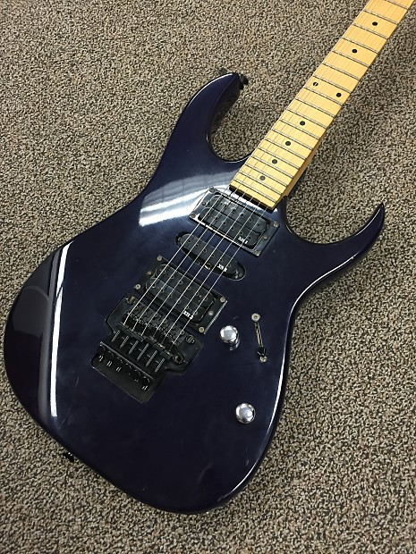 ibanez ex series blue electric guitar reverb. Black Bedroom Furniture Sets. Home Design Ideas