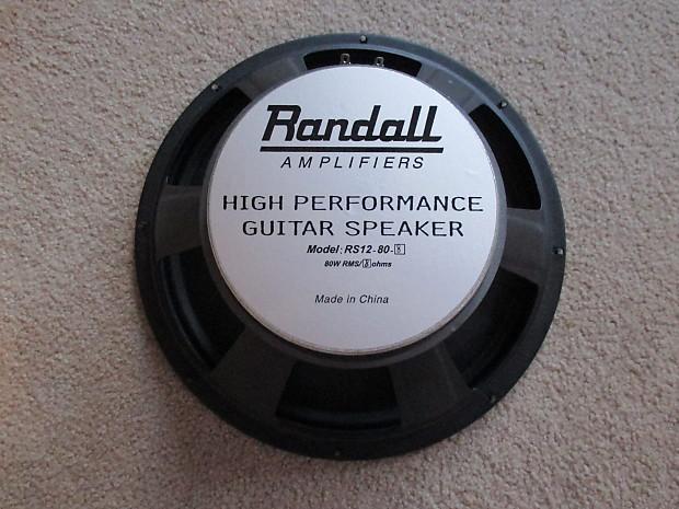 Randall RS-412 XJM Speaker Cabinet | SevenString org
