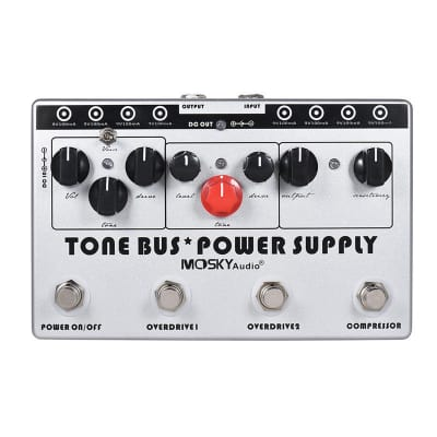 Mosky Audio Tone Bus. 3 Effects Pedal + 8 Outputs Power Supply in 1 Unit