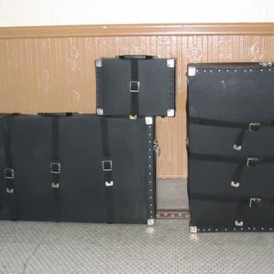 Musser M48 Pro Traveler Vibraphone cases
