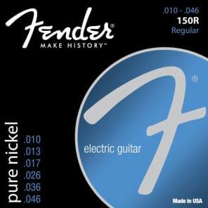 Fender 150R Pure Nickel Electric Guitar Strings Set - REGULAR 10-46 for sale