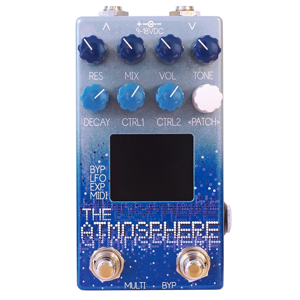 Dr. Scientist The Atmosphere Reverb Effects Pedal