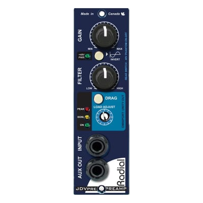 Radial JDV-Pre 500-Series Instrument Preamp and DI