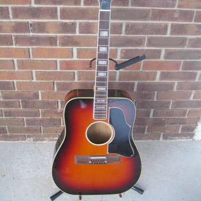 Vintage Wurlitzer  12 String Acoustic Guitar 1965 for sale