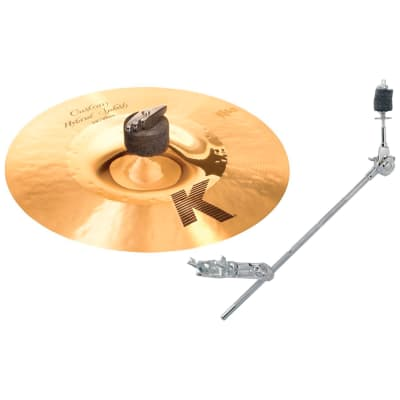 "Zildjian K1211 11"" K Custom Hybrid Splash Cymbal Bundle"