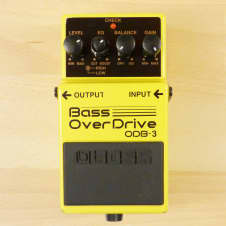 Boss ODB-3 Bass OverDrive Pedal - Great Bass Guitar Over Drive Effects Pedal - Very Good Condition