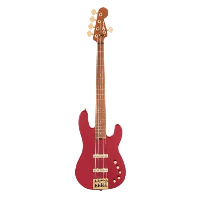 Charvel Pro-Mod San Dimas Bass JJ V Candy Apple Red Pre-Order for sale