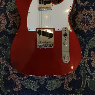 Fender Telecaster '67 Reissue 2012 Candy Apple Red for sale