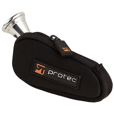 Protec French Horn Neoprene Mouthpiece Pouch Black