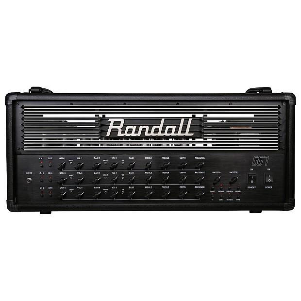 Randall 667 6-Channel 120-Watt Programmable All Tube Guitar Amp Head