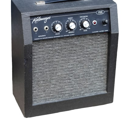 Vintage 1965 Kalamazoo Model Two  (II) Combo Amp ~~ ALMOST MINT! Chicago Musical Instrument Company/ Gibson for sale