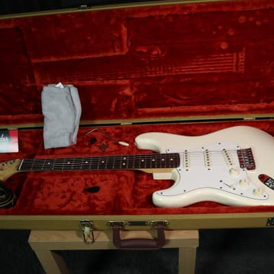 Fender American Standard Stratocaster Left-Handed 2014 Olympic white for sale
