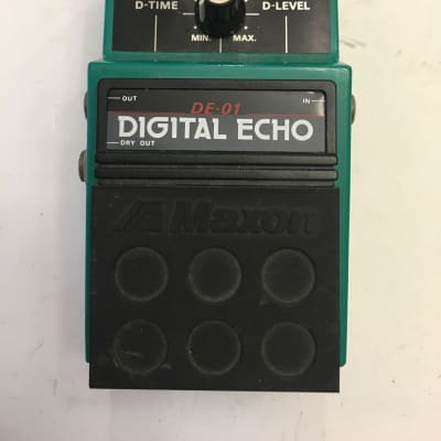 Maxon DE-01 Digital Echo Delay Rare Vintage Guitar Effect Pedal MIJ Japan for sale