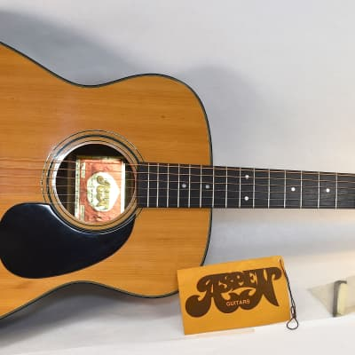 1976 Aspen AD-25 Acoutic Guitar • MIJ • Orig Hang Tag for sale