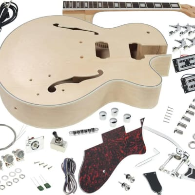 Solo GFK-10 DIY Electric Guitar Kit With Vibrato Trem