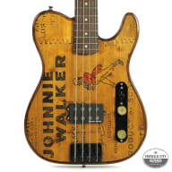 "Walla Walla Maverick Bass Vintage Wood ""J Whiskey"" for sale"