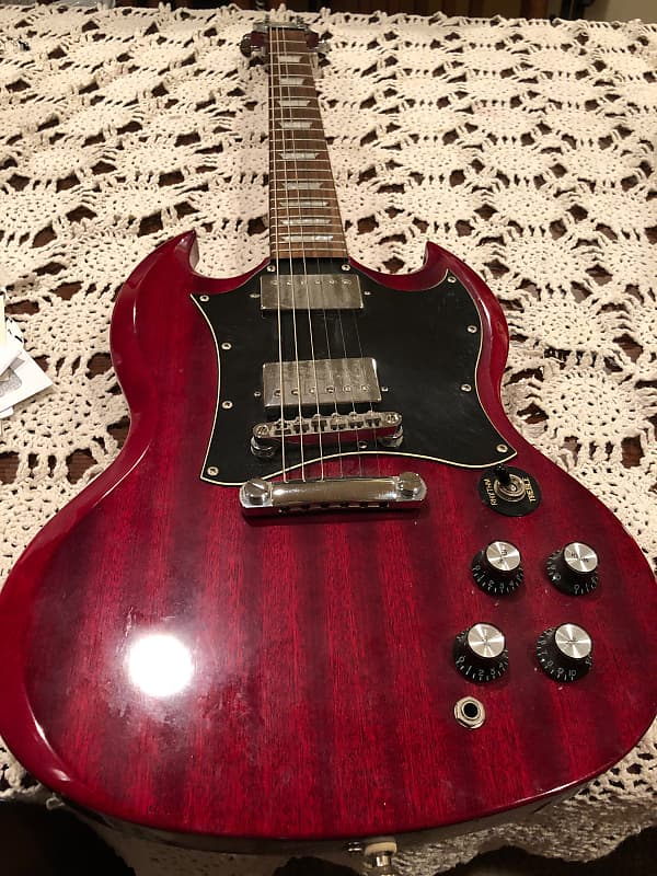 Epiphone SG limited edition Custom Shop 2000's Candy | Reverb