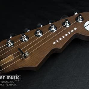 Reverend Kingbolt RA FM with Roasted Maple Neck Natural Flame Maple