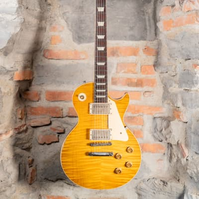 Gibson Custom Shop Les Paul 59 Burst Ace Frehley Aged and Signed Limited (Cod.772) 2015 for sale