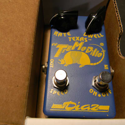1995 Cesar Diaz Texas Tremodillo Generation 1 Signed Blue New Old Stock ! for sale