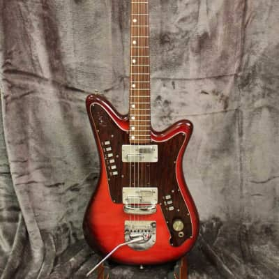 Goya Rangemaster Red Burst 1967-1969 with Original Hardshell Case for sale