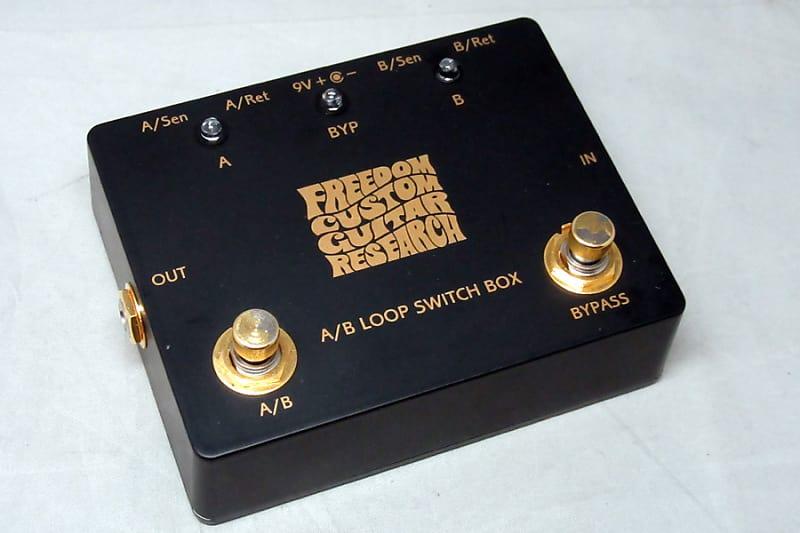 Freedom Custom Guitar Research A B Loop Switch Box Sp Ef 02Bk - Free  Shipping*