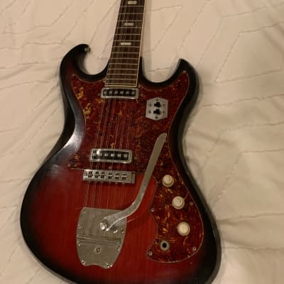 Kingston  Hound Dog Taylor Style 1960 Red for sale