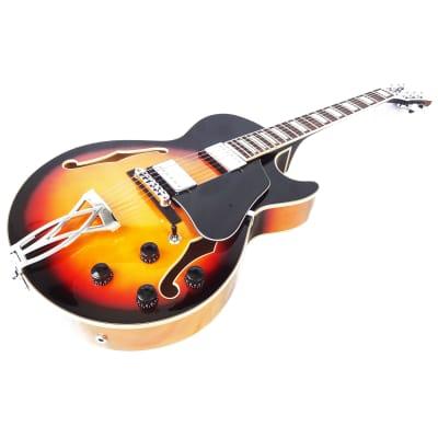 Ibanez AG75-BS Artcore Series Hollowbody Electric Guitar Brown Sunburst