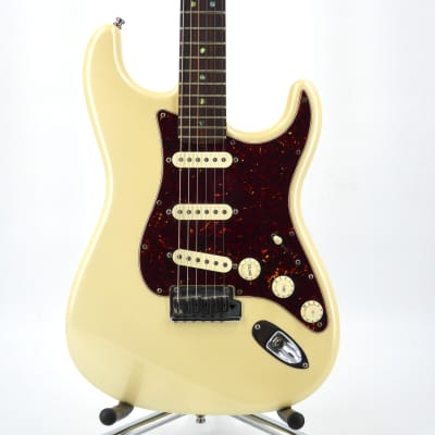 Fender American Deluxe Stratocaster 2009 Olympic White for sale