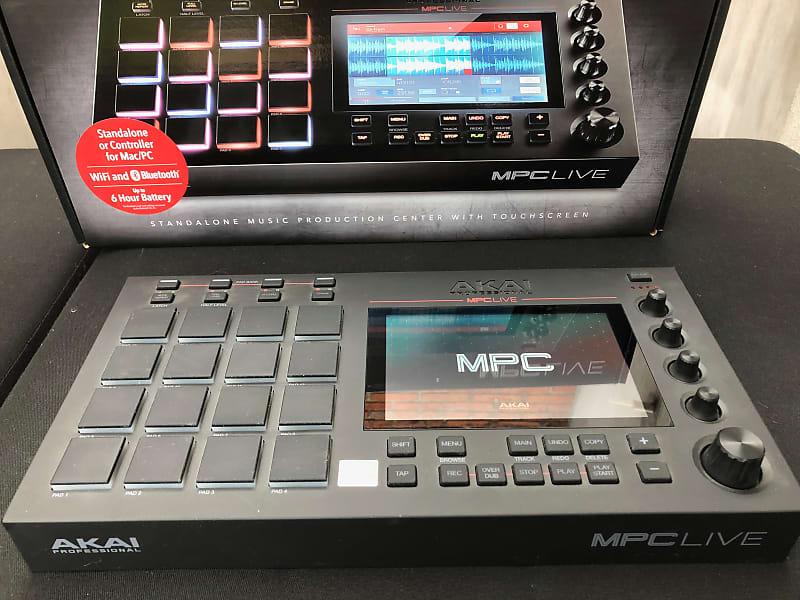 Akai MPC Live Standalone Sampler/Sequencer | Fernando's | Reverb