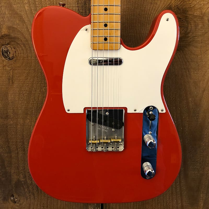 Fender Vintera '50s Telecaster MIM Fiesta Red 2019 Mexico