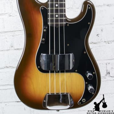 Vintage 1978 Fender Precision Bass Sunburst w/ OHSC for sale