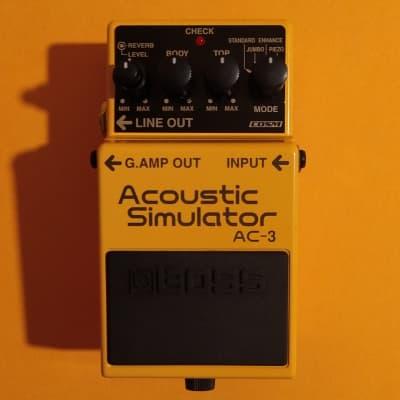 Boss AC-3 Acoustic Simulator 2007 w/box