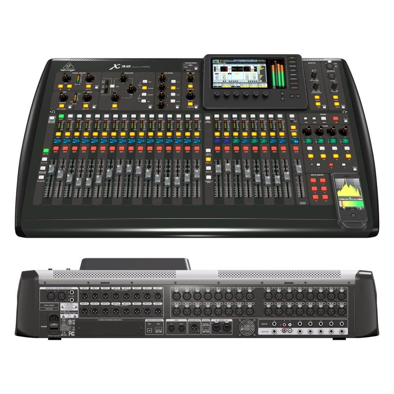 Behringer X32 25 Bus Digital Mixing Console 32 Channel W