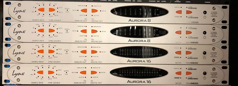 Lynx Aurora 8 8-Channel Mastering AD/DA Converter | Reverb