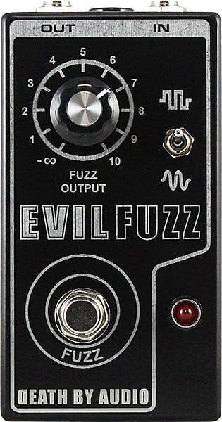 death by audio limited edition evil fuzz pedal dealer reverb. Black Bedroom Furniture Sets. Home Design Ideas