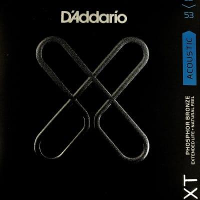 D'addario XT Phosphor Bronze Light 12-53 Acoustic Guitar Strings