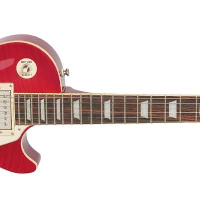 Epiphone Les Paul Standard PlusTop Pro Solidbody Electric Guitar - Honey Burst, Left-Handed for sale